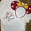 Thumbnail: Minnie Mouse Sketch embroidered t-shirt or tank