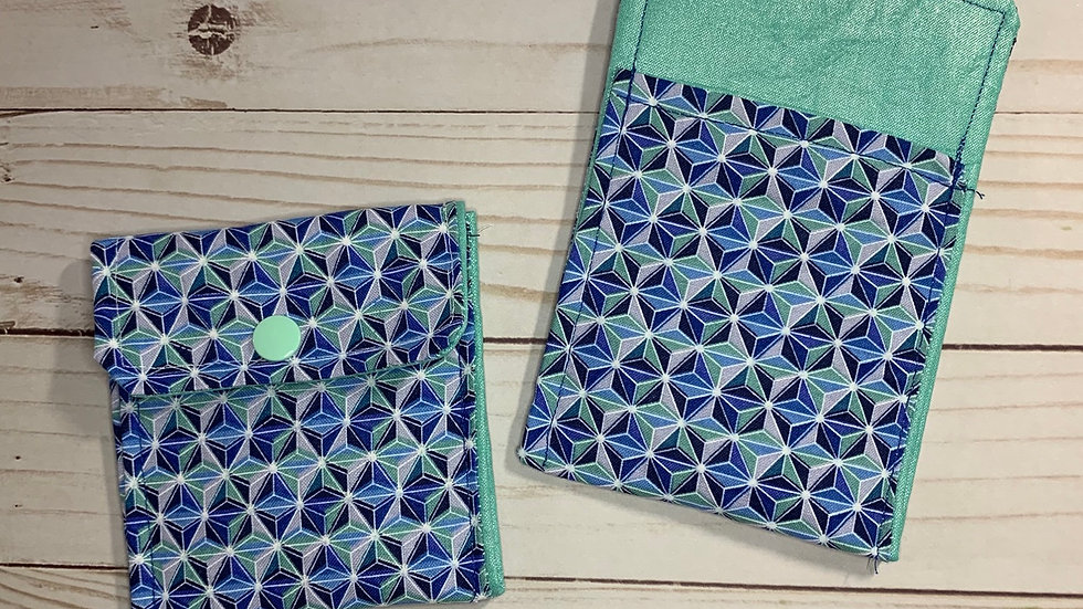 Blue Grand and Miraculous Card Wallet