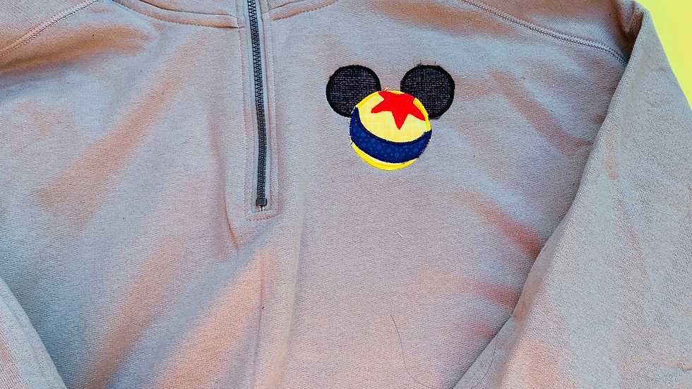 Luxo ball mouse hoodie, pullover, 1/4 zip