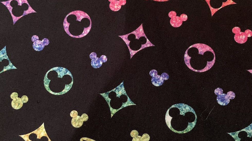 Disney Rainbow Designer boxy bag or makeup bag