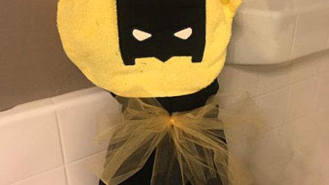 Batman Hooded Towel - Name Embroidery Option