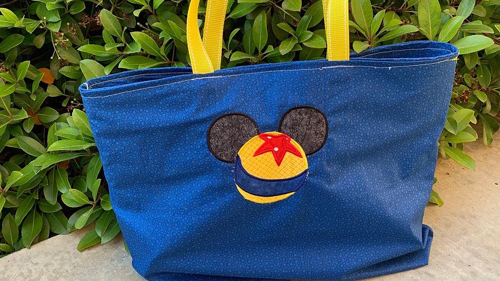 Luxo pixar ball embroidered tote bag, makeup bag, towel or blanket - name embroi