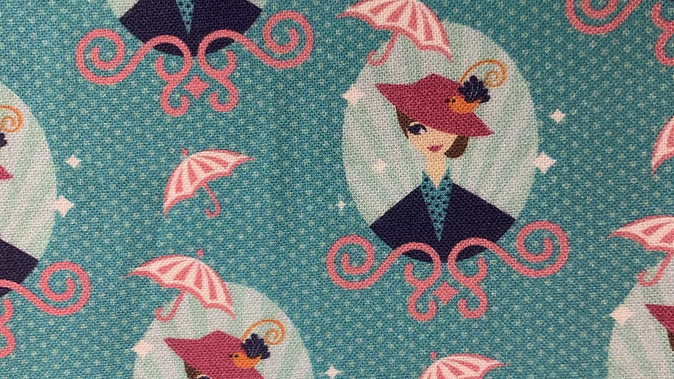Mary Poppins boxy bag or makeup bag