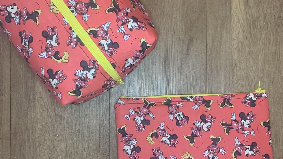 Classic Minnie Toss Makeup Bag or Boxy Bag