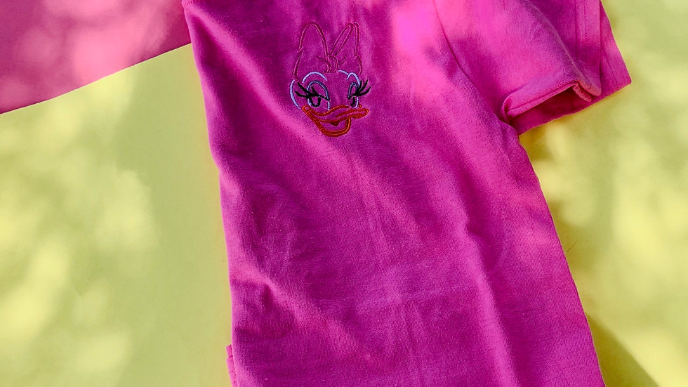 Daisy duck embroidered T-Shirt or tank top