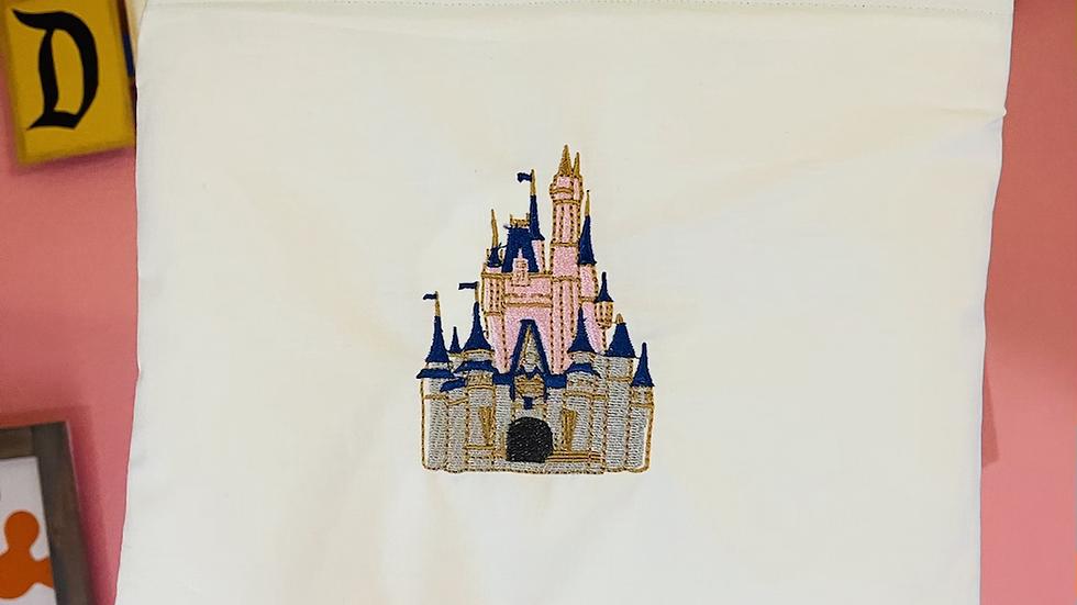 Walt Disney World Castle towels, makeup bag, tote