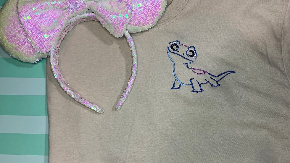 Bruni embroidered T-Shirt or tank top