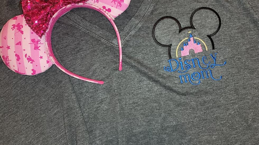 Disney Mom Slouchy Women's V-Neck