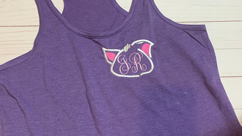 Pua Monogram embroidered T-Shirt or tank top