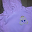 Thumbnail: Aurora embroidered hoodie, pullover, 1/4 zip