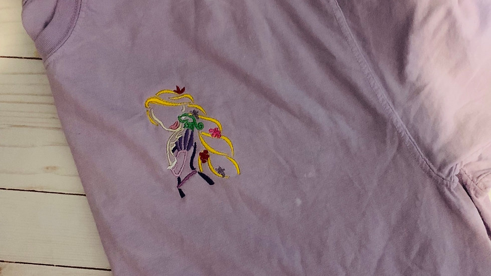 Rapunzel embroidered t-shirt or tank top