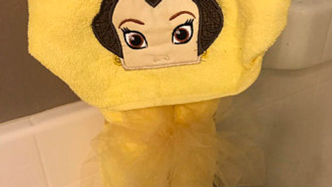 Belle Hooded Towel - Name embroidery Available