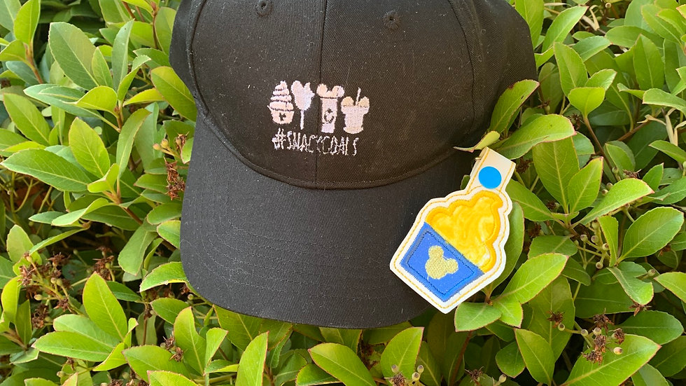 #Snackgoal embroidered hat