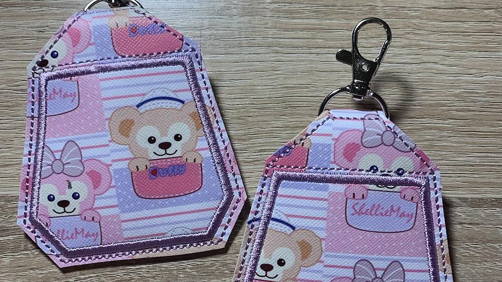 Duffy and Shellie  Headphone Holder/ Airpod Holder Keychain