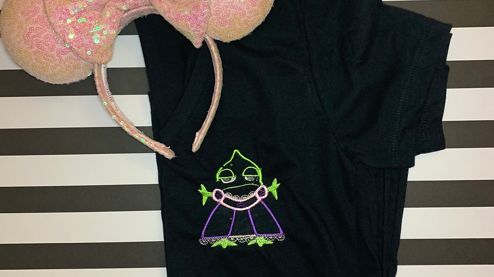 Pascal in Rapunzel's dress embroidered t-shirt or tank top