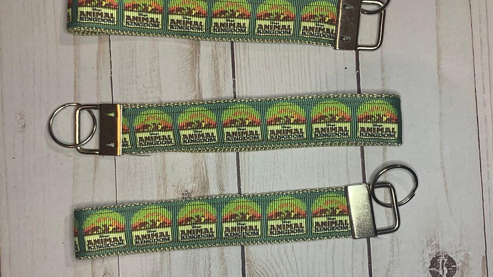 Animal Kingdom keychain wristlet