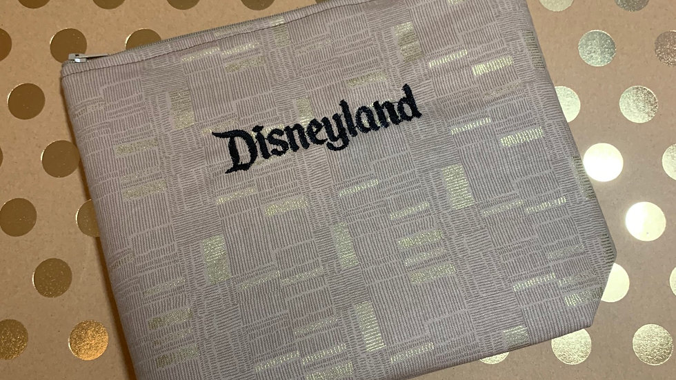 Disneyland embroidered towels, blanket, makeup ba