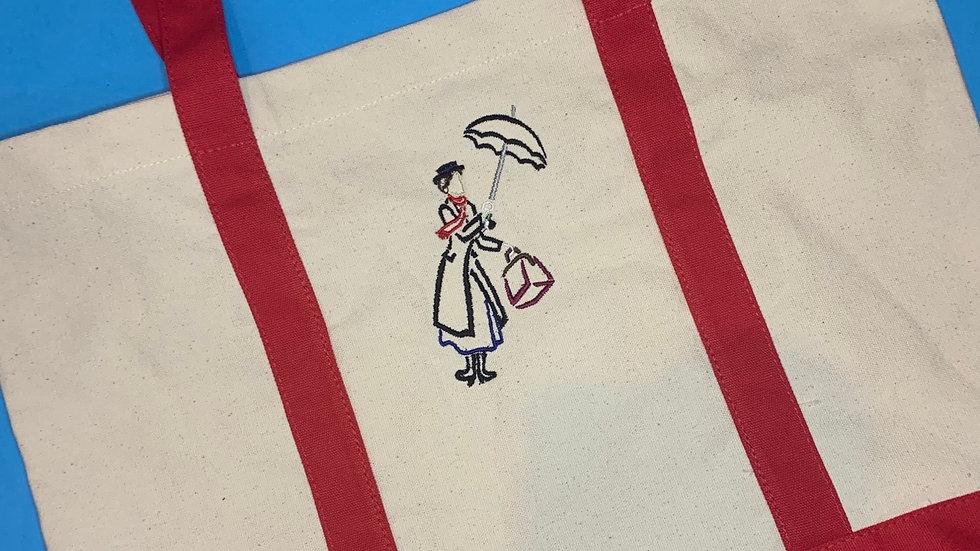 Mary Poppins pocket tote