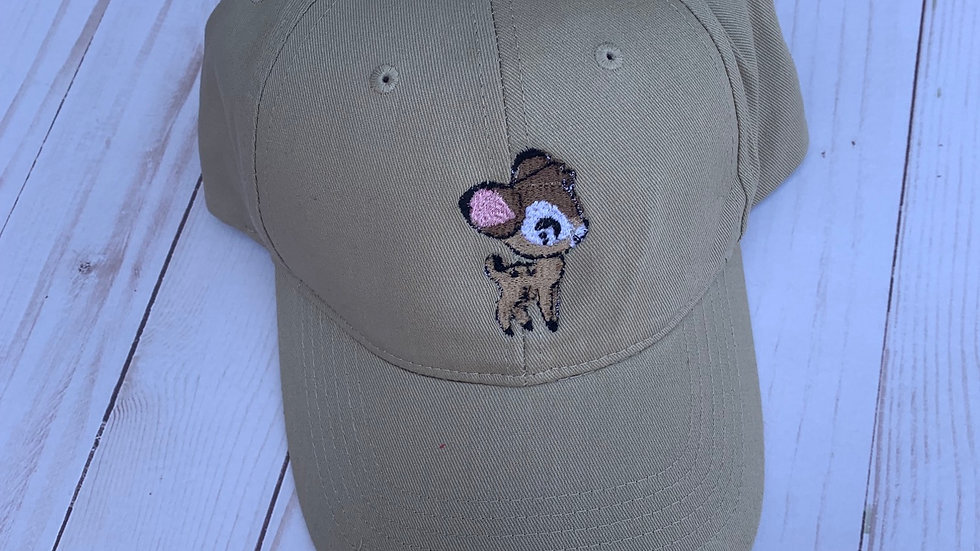 Bambi embroidered Hat
