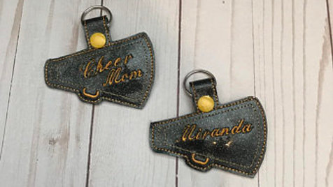 Customize hour own megaphone keychain