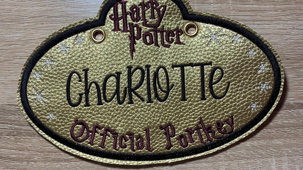 Harry Potter Stroller Tag
