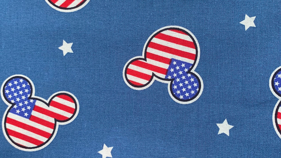Patriotic Mickey card wallet