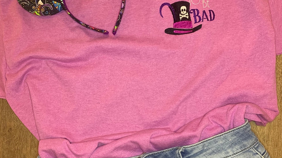 Facilier Good to be Bad embroidered t-shirt or tank