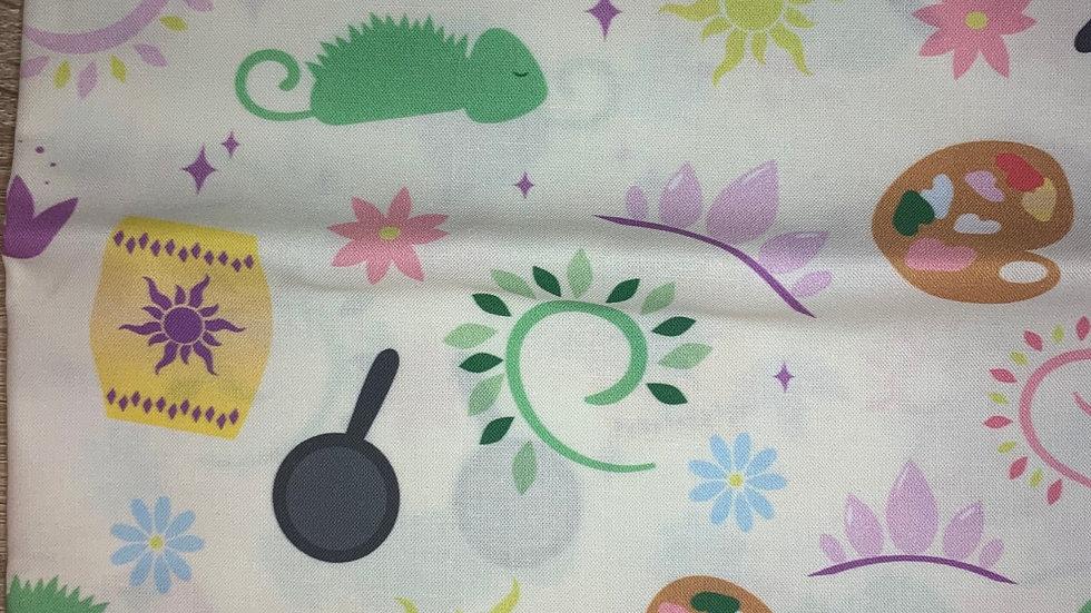 Rapunzel's favorite things boxy bag or makeup bag