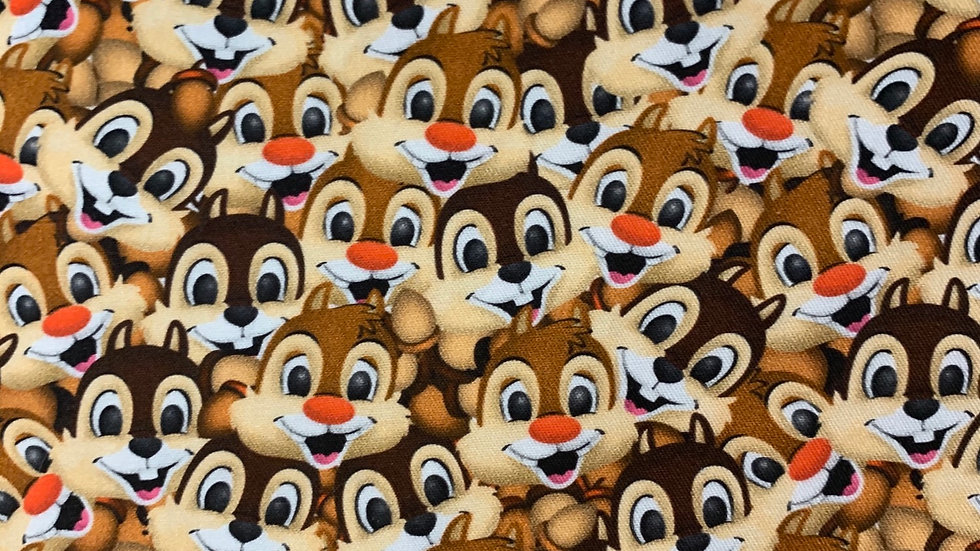 Chip n Dale boxy bag or makeup bag