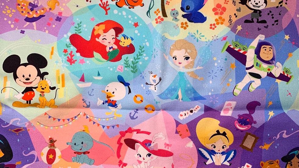 Disney Cuties boxy bag or makeup bag