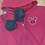 Thumbnail: Baymax Mouse embroidered zip up hoodie