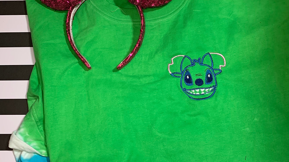 Stitch Mouse embroidered spirit jersey