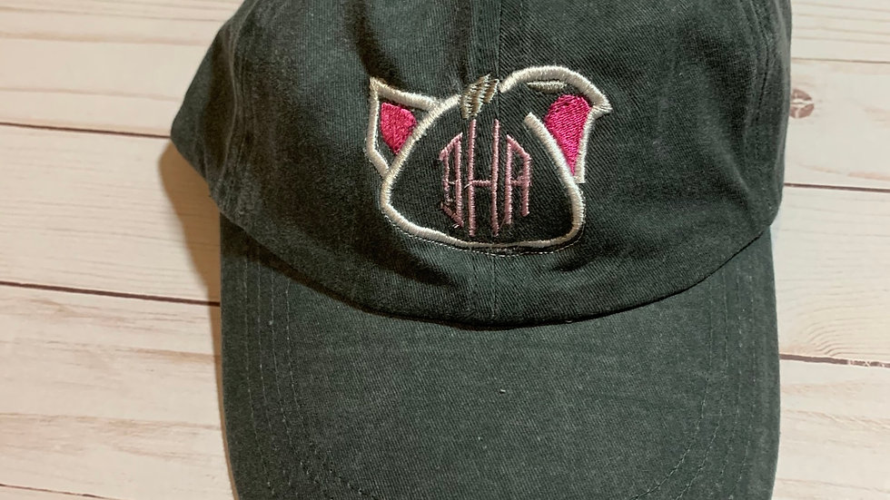 Pua monogram embroidered hat