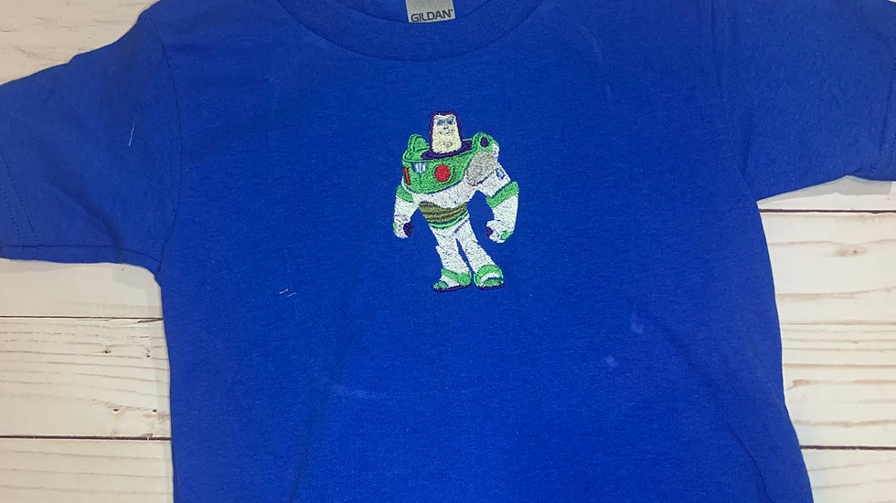 Buzz Lightyear embroidered t-shirt or tank top