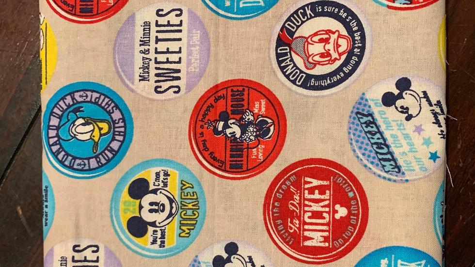 Mickey Bottle Caps card wallet
