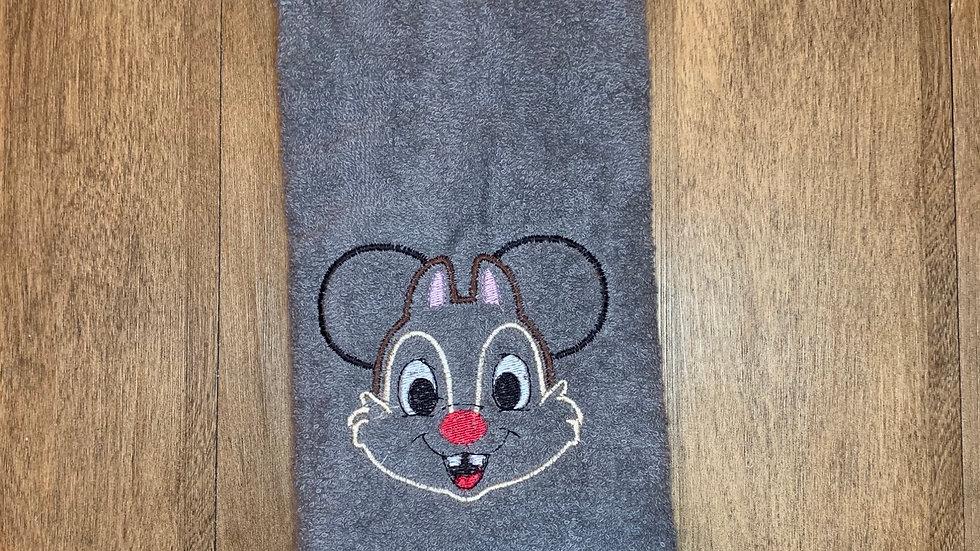 Dale Mouse towels, makeup bag, tote