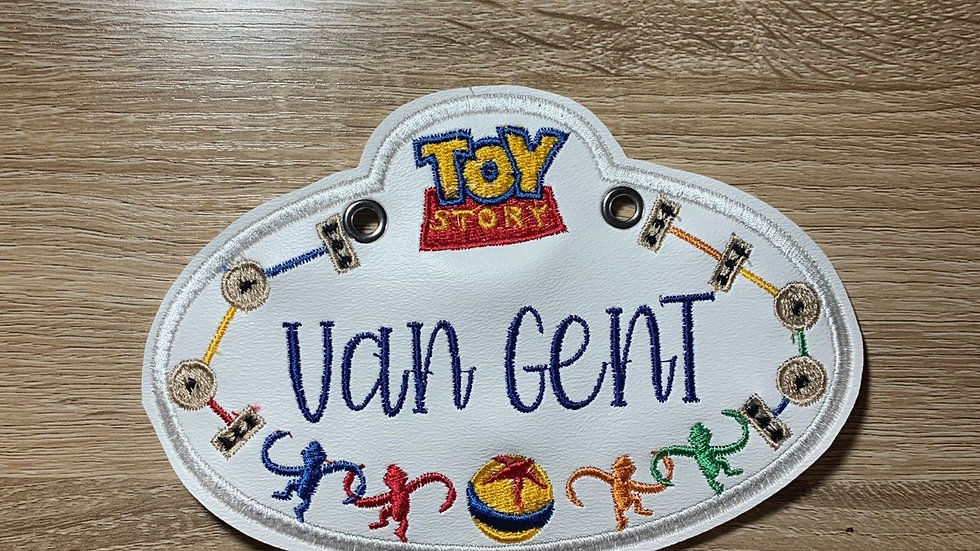 Toy Story Stroller Tag