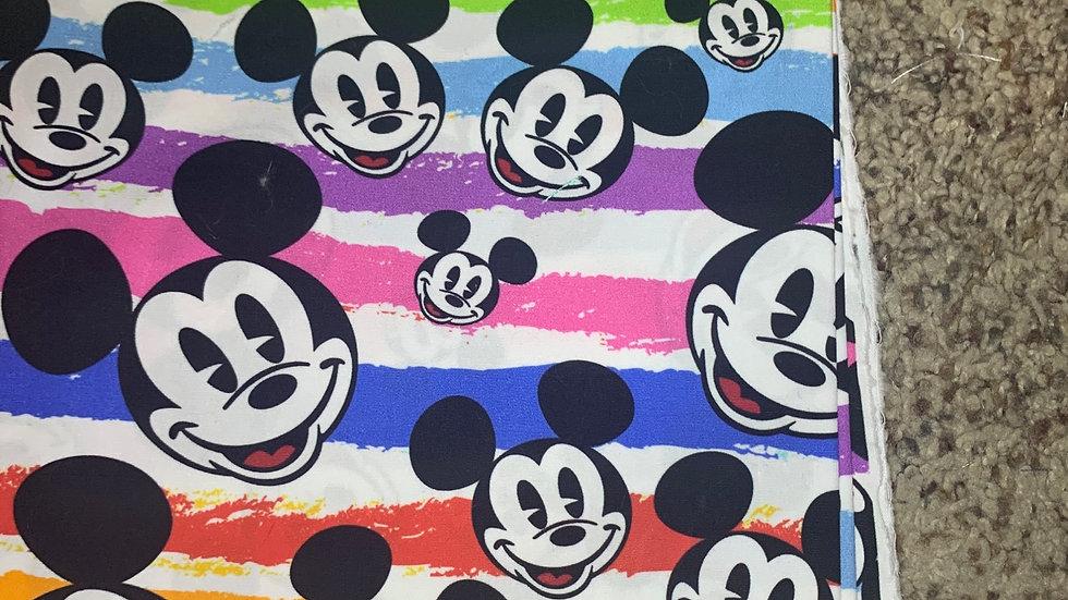 Rainbow Mouse preorder boxy bag or makeup bag