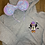 Thumbnail: Vampire Mickey embroidered hoodie, pullover, 1/4 zip
