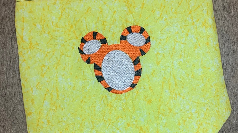 Tigger Mouse towels, makeup bag, tote
