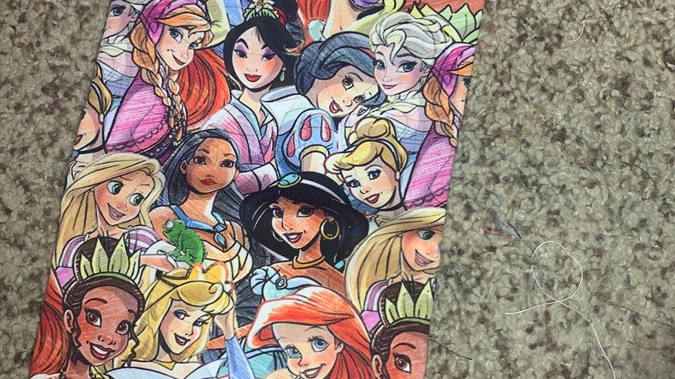 Sketched Princesses preorder boxy bag or makeup bag