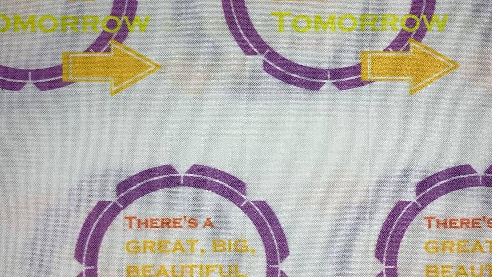 There's a great big beautiful tomorrow boxy bag or makeup bag