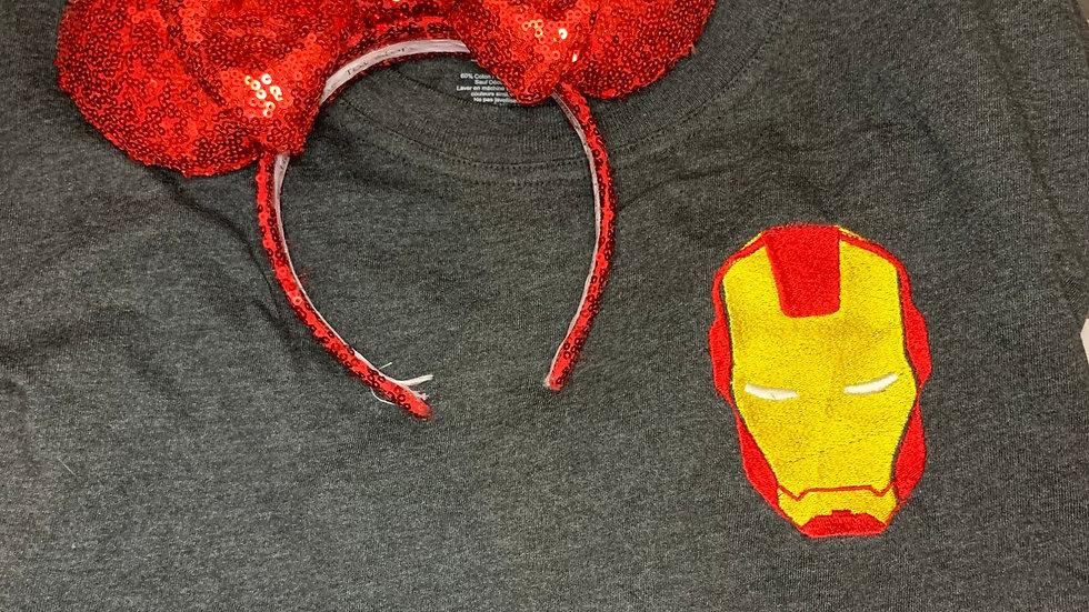 Iron Man embroidered spirit jersey