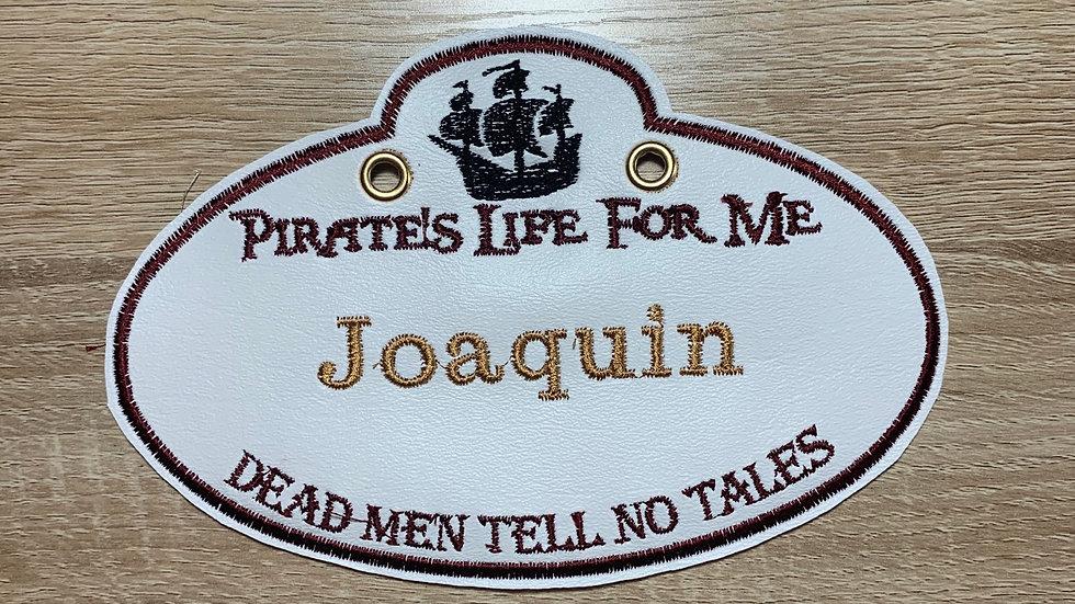 Dead Men Tell No Tales - Pirates  Stroller Tag