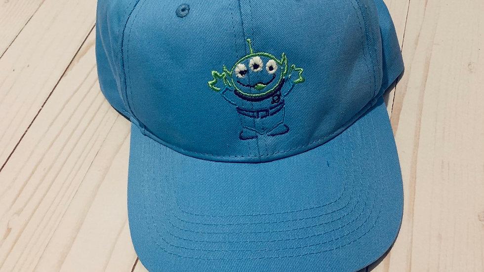 Little green men embroidered baseball hat