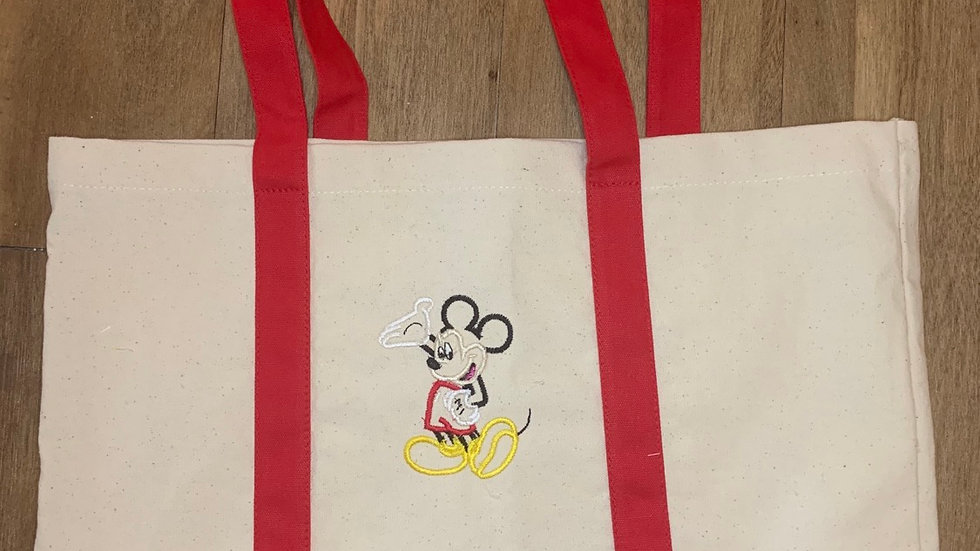 Mickey Mouse pocket tote