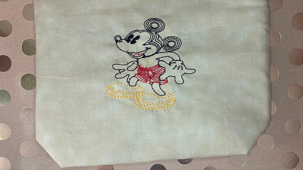 Dooney Doodle Mickey Mouse towels, makeup bag, tote bag, bl