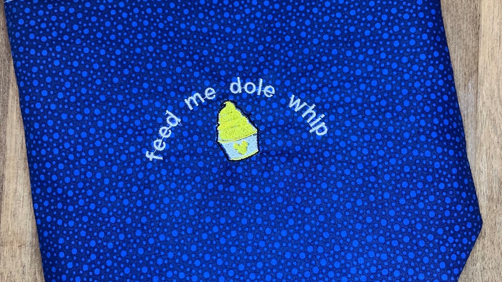 Feed me Dole Whip towels, makeup bag, tote