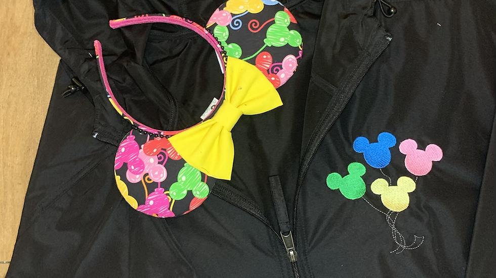 Mickey Balloons Rain Jacket