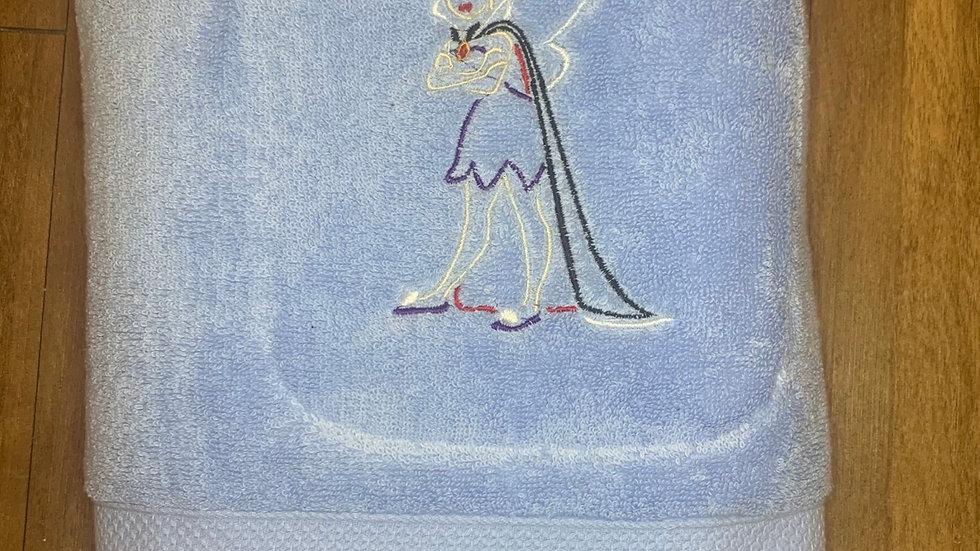 Evil Queen Tinkerbell towels, makeup bag, tote